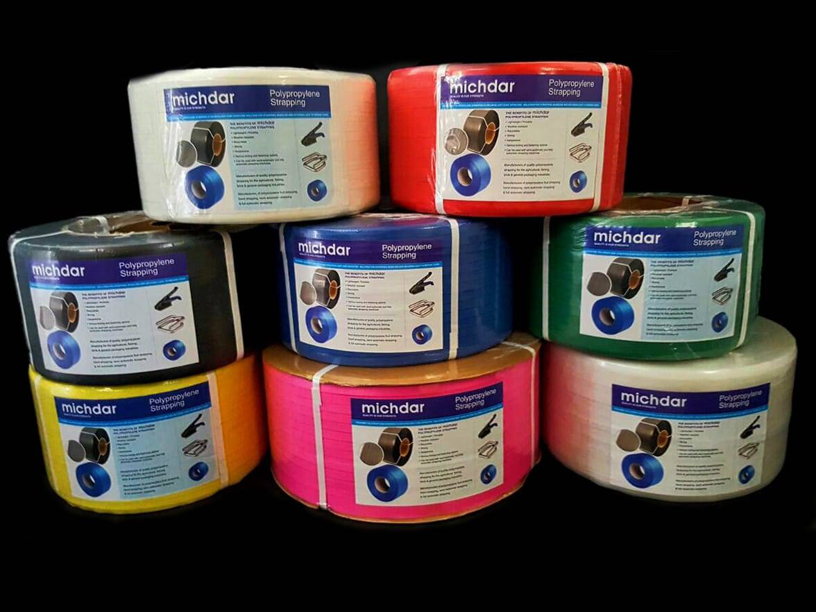 Polypropylene Strapping Michdar Manufactures And